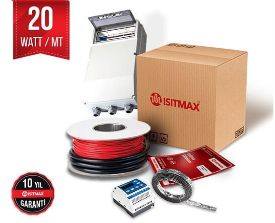 Heat trace kablosu - Boru ısıtma - 20Watt/mt