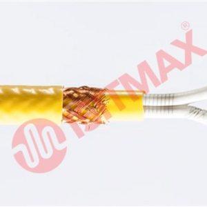 Kesilebilir çift iletkenli silikon izoleli ısıtma kablosu