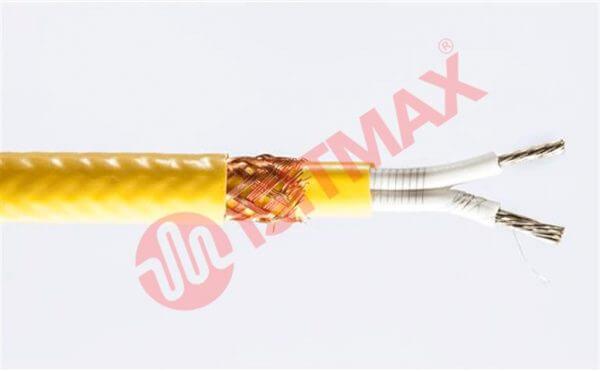 Metal örgülü kesilebilir silikon izoleli ısıtma kablosu